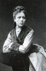 Ludwika Ostrowska, lata 80. XIX w.