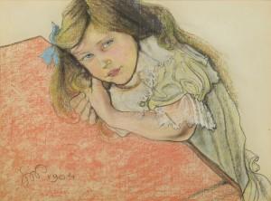 Stanisław Wyspiański, Portret Helenki Sternbachówny, 1904.