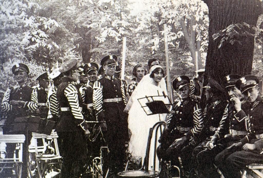Ślub Edmunda i Izabelli Radziwiłłów (1934).