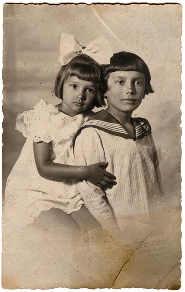 Zofia i Tadeusz Schuchowie (1921).