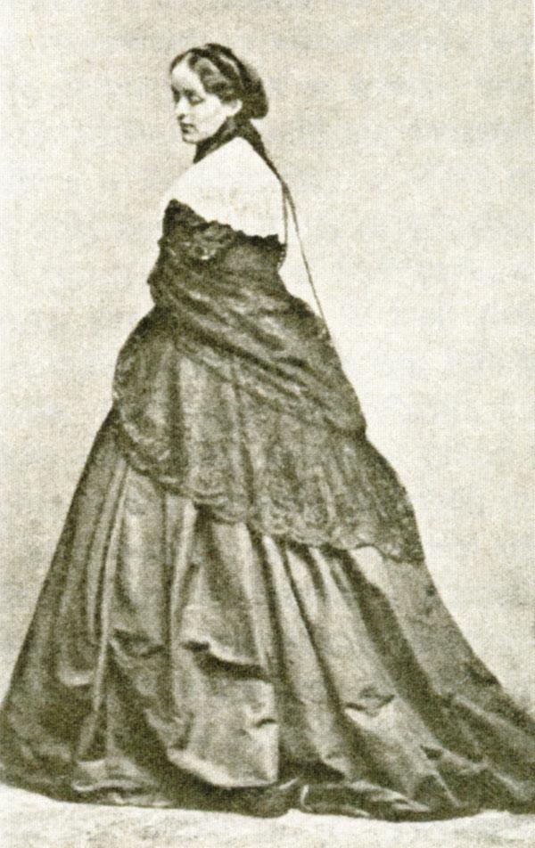 Anna Potocka jako młoda mężatka.