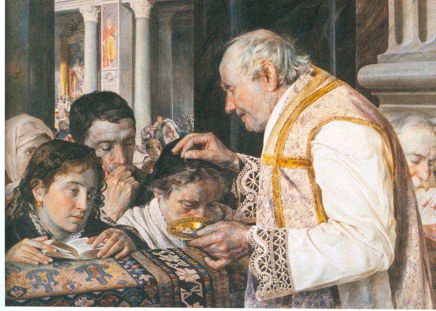 Józef Fałat - Popielec