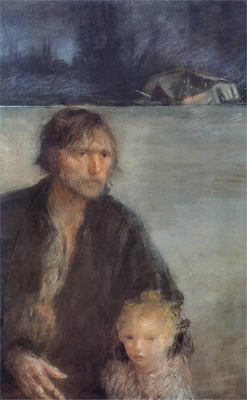 Teodor Axentowicz - Powodzianie