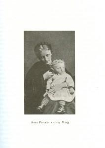 Anna Potocka z córką Marią