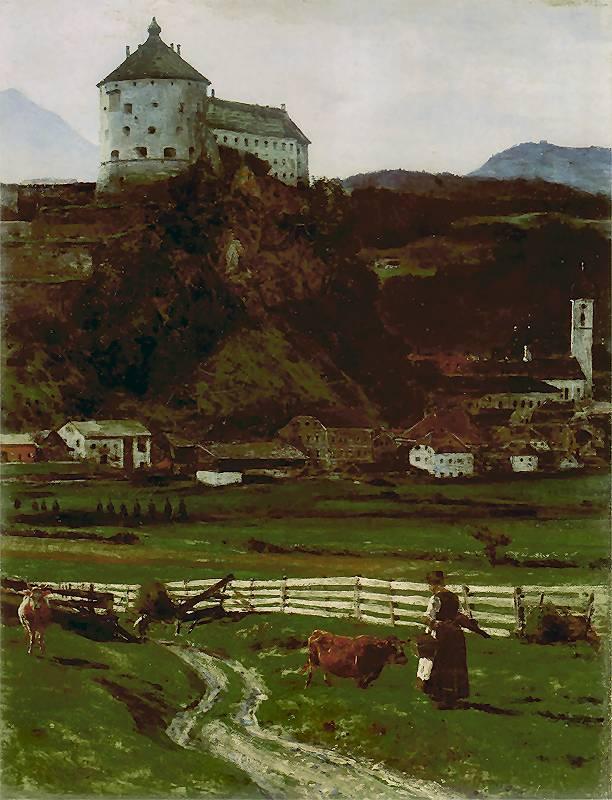 Aleksander Gierymski - Widok z okolic zamku w Kufstein