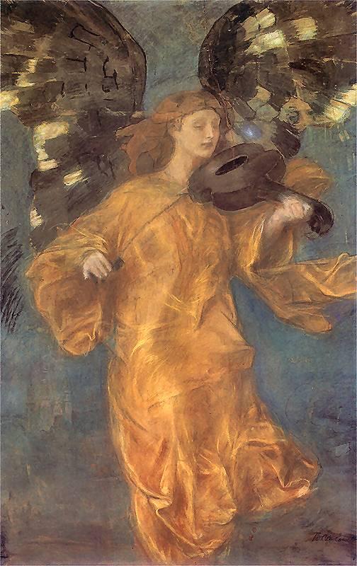 Teodor Axentowicz - Złoty Anioł