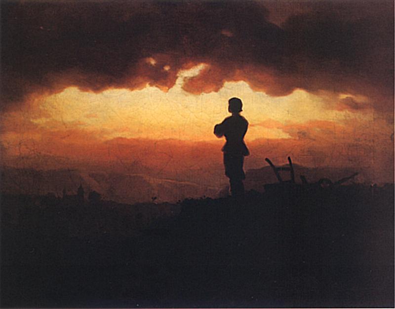 Artur Grottger - Modlitwa rolnika