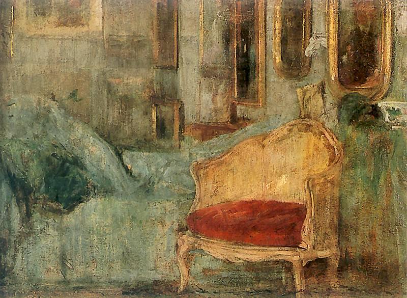 Olga Boznańska - Wnętrze pracowni