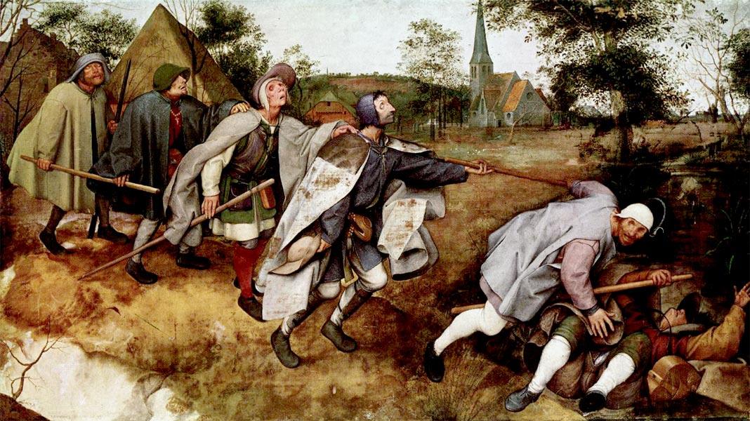 Peter Bruegel - Ślepcy