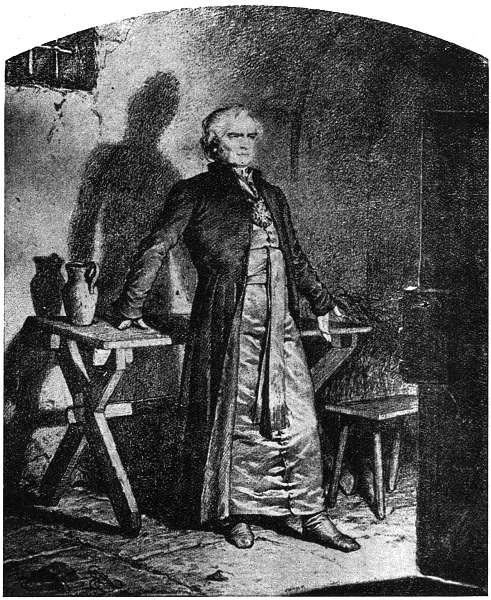 Artur Grottger - Więzienie księdza