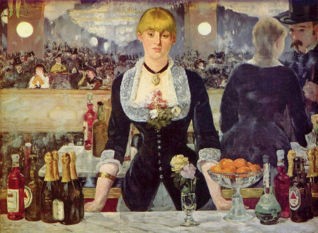 Edouard Manet - Bistro w Folies - Bergere