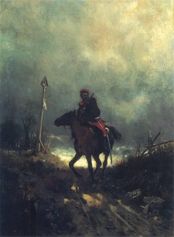 Maksymilian Gierymski - Powstaniec 1863 r.