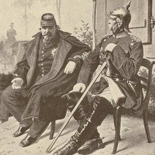 Napoleon III i Otto von Bismarc