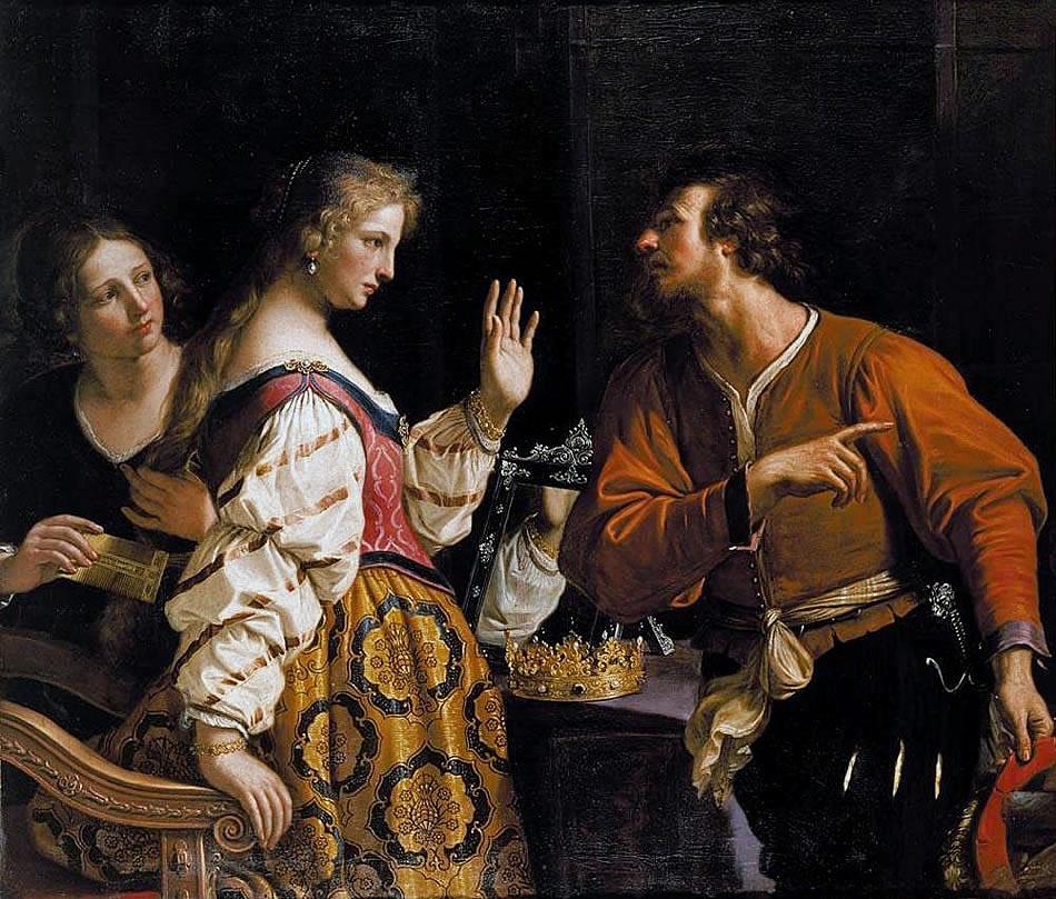 Guercino - Semiramida 1645