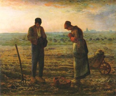 Jean Francois Millet - Anioł Pański 1857-1859