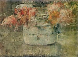 Olga Boznańska - Kwiaty