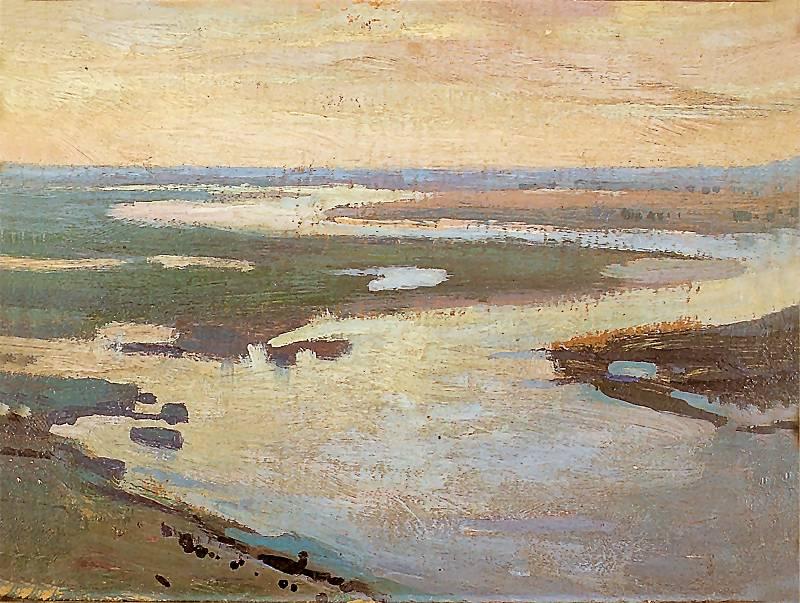 Jan Stanisławski - Limany Dniepru