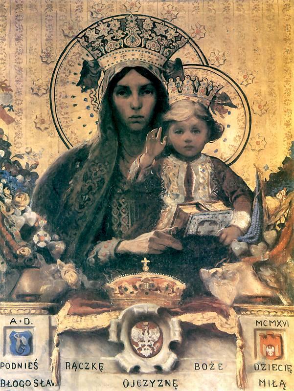 Włodzimierz Tetmajer - Matka Boża - Królowa Polski