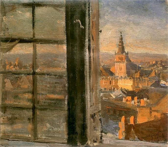 Leon Wyczółkowski - Widok z Wawelu