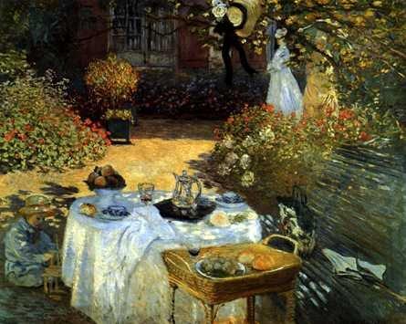 Claude Monet - W ogrodzie