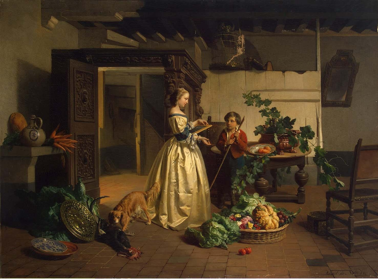 David Emile Joseph de Noter - W kuchni