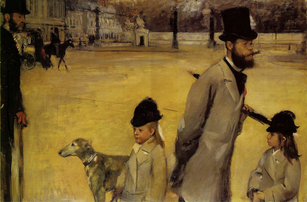 Edgar Degas - Place de la Concorde