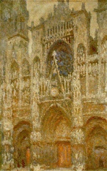 Edouard Monet - Katedra w Rouen