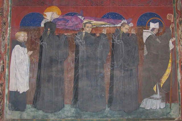 Jan Henryk Rosen - fresk w Katedrze ormiańskiej we Lwowie