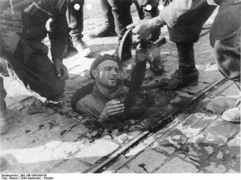 Warszawa' wrzesień 1944 (z niemieckiego archiwum)