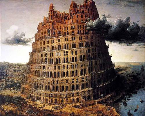 Peter Breugel - Wieża Babel