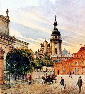 Tadeusz Kamieniobrodzki - Kościól i klasztor Bernardynów we Lwowie