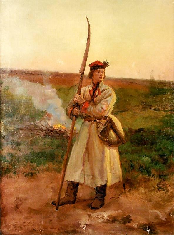Józef Chełmoński - Kosynier