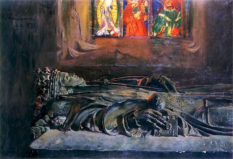 Sarkofag Jadwigi na Wawelu