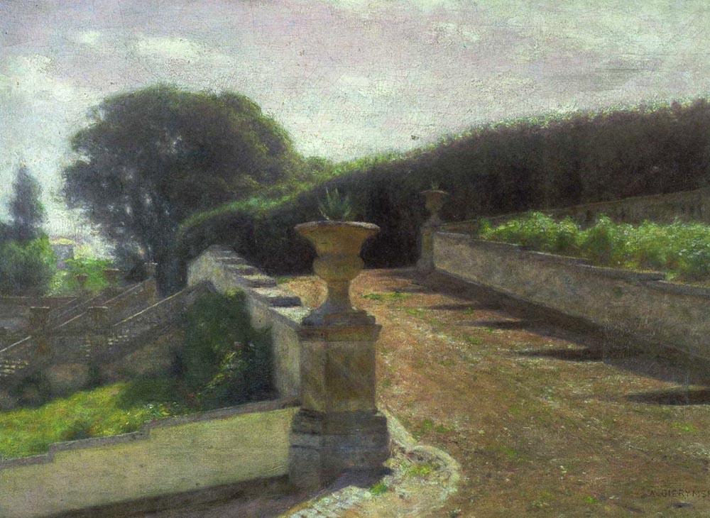 Aleksander Gierymski - Ogród włoski