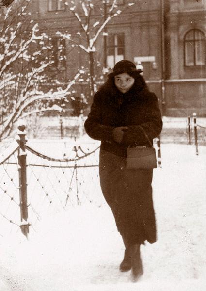 Rozalia Celakówna - Kraków, lata 40.. XX wieku