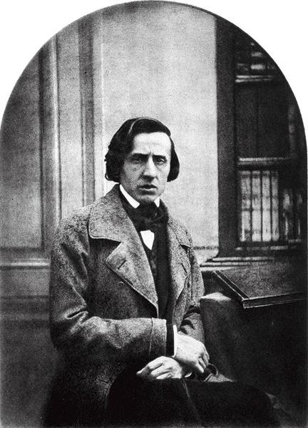 Fryderyk Chopin na krótko przed śmiercią, Paryż