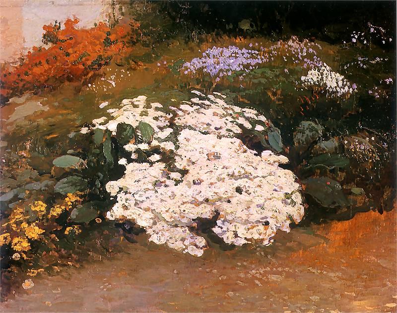 Leon Wyczółkowski - Ogród