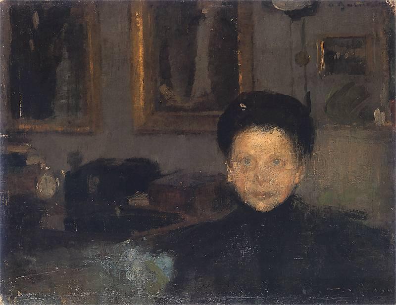 Olga Boznańska - Studium portretowe kobiety