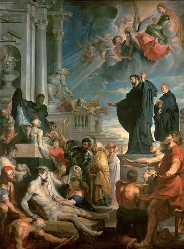 Peter Paul Rubens - Św. Franciszek Ksawery wskrzesza zmarłego