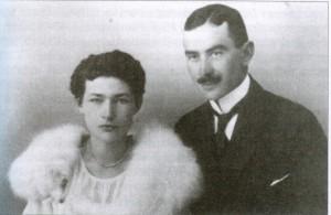 Ksawery Karśnicki z żoną Wandą z Orzechowskich