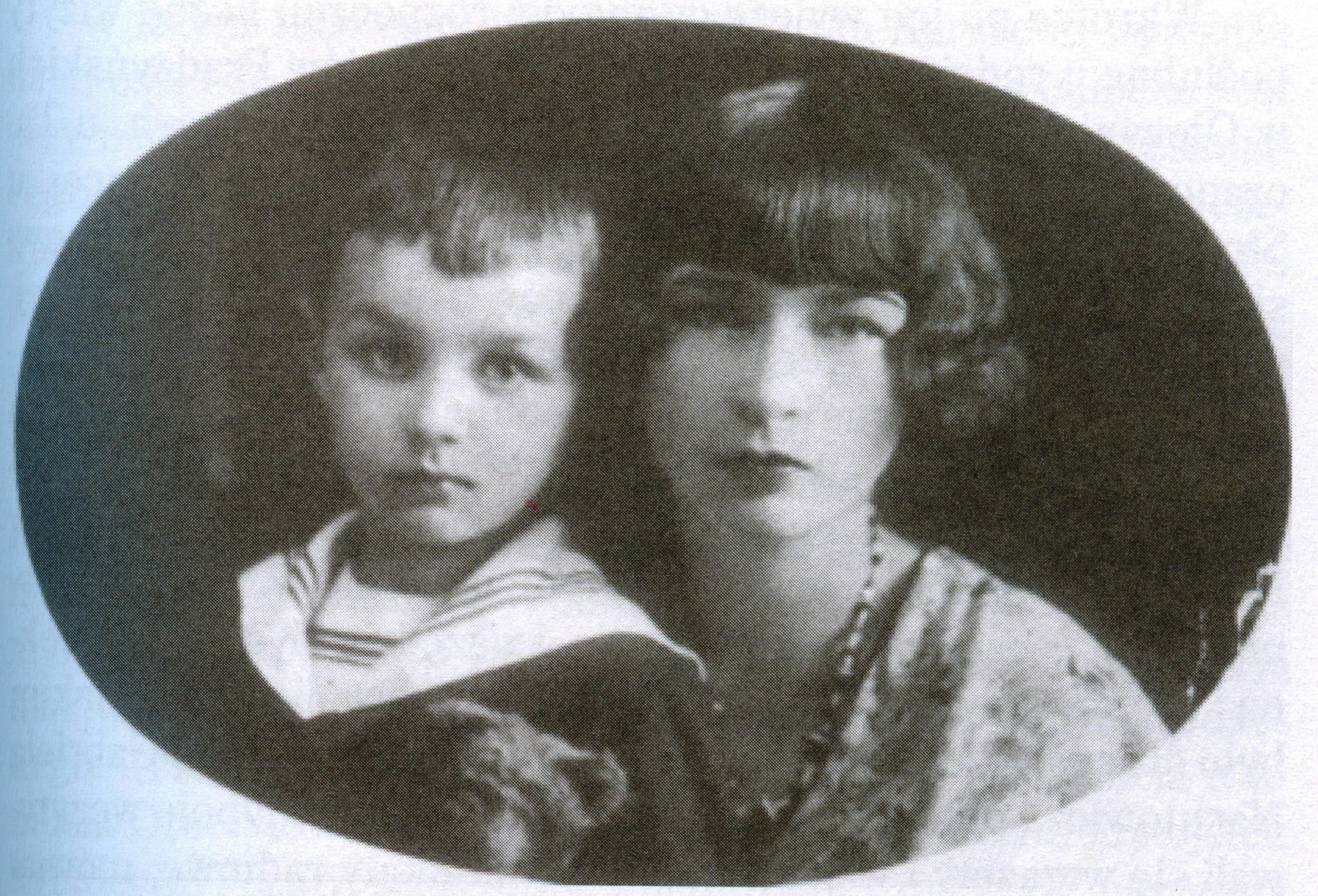 Wanda Karśnicka z synem Antonim