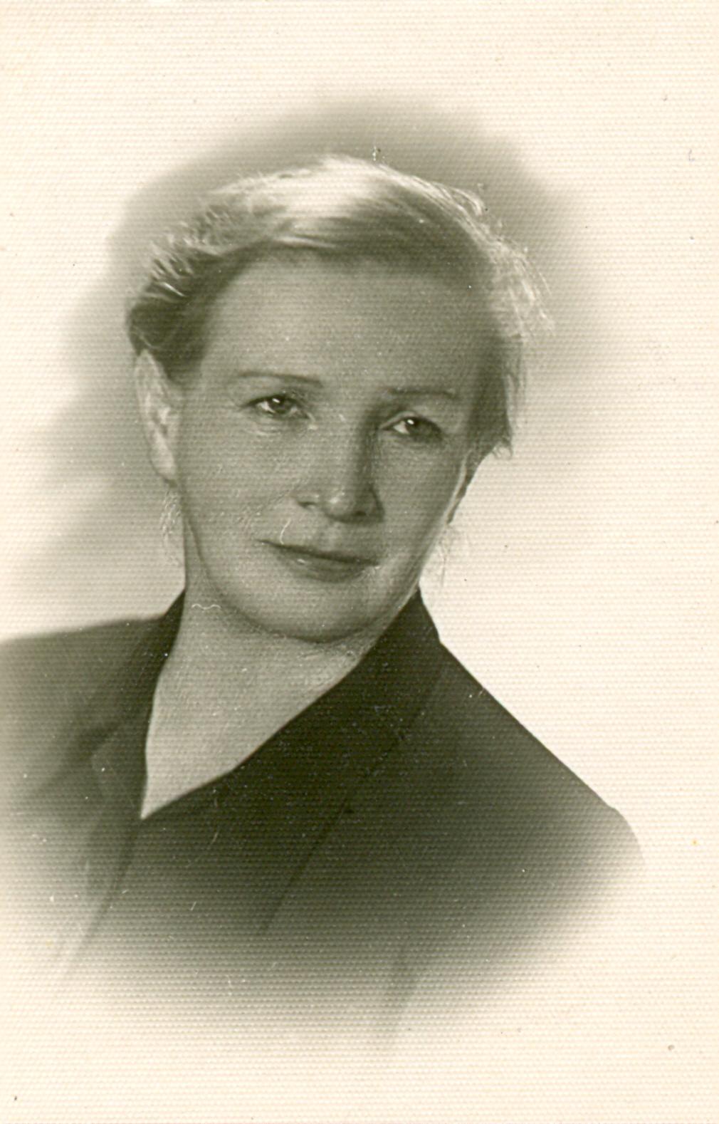 Stefania Weinhold - lata 50. XX wieku