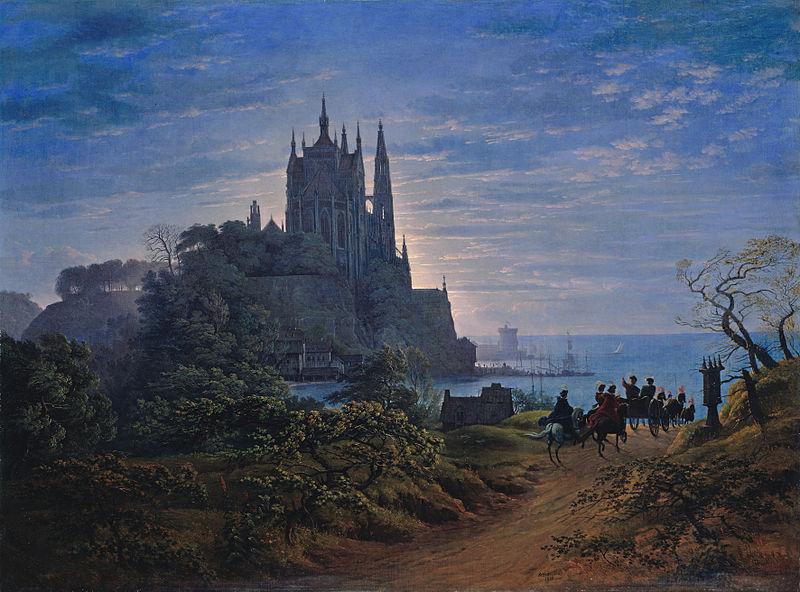 Karl Friedrich Schinkel - Kościól nad rzeką