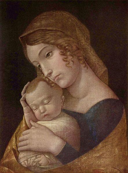 Andrea Mantegna - Maryja z Dzieciątkiem