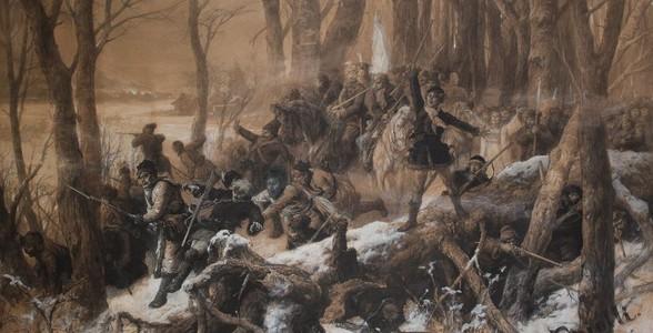 Elwiro Michał Andriolli - Scena z Powstania 1863