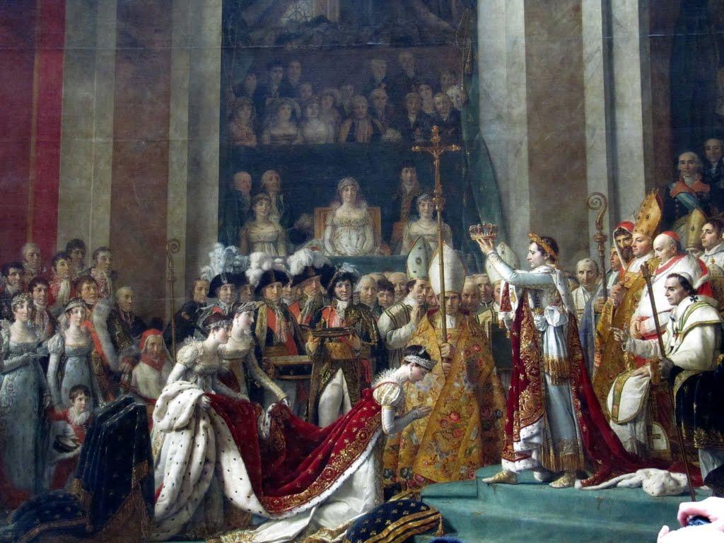 Jacques - Louis David - Le Sacre, czyli Pomazanie (albo Koronacja)