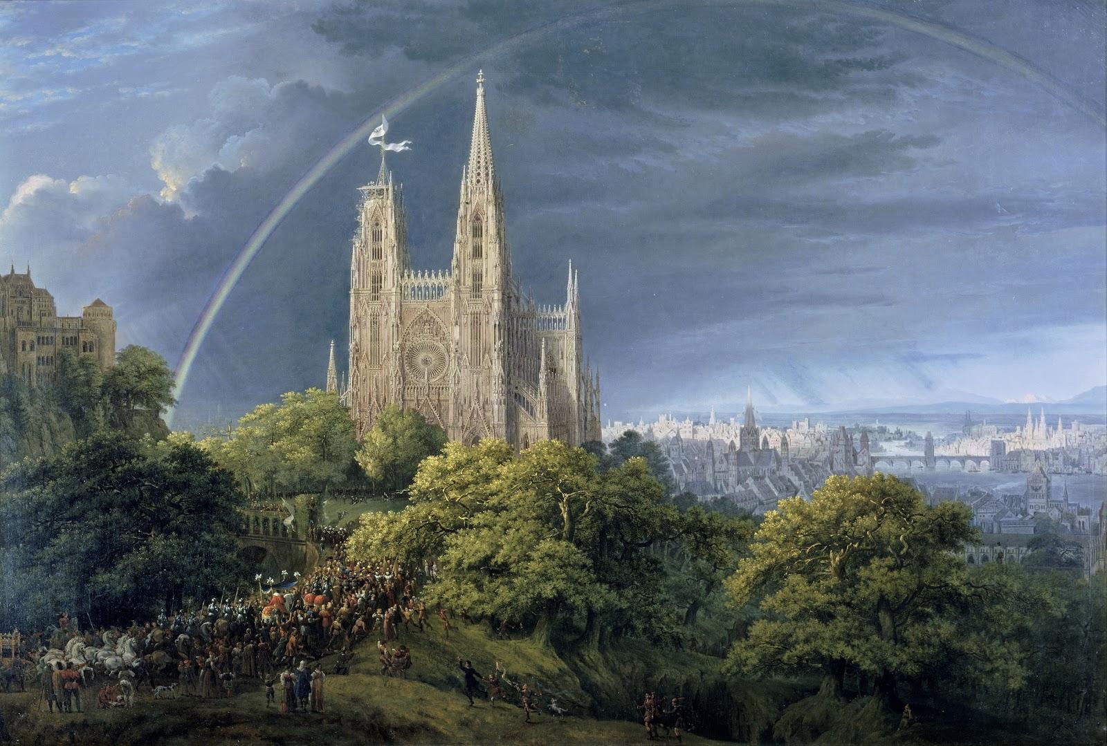 Karl Friedrich Schinkel - Katedra gotycka