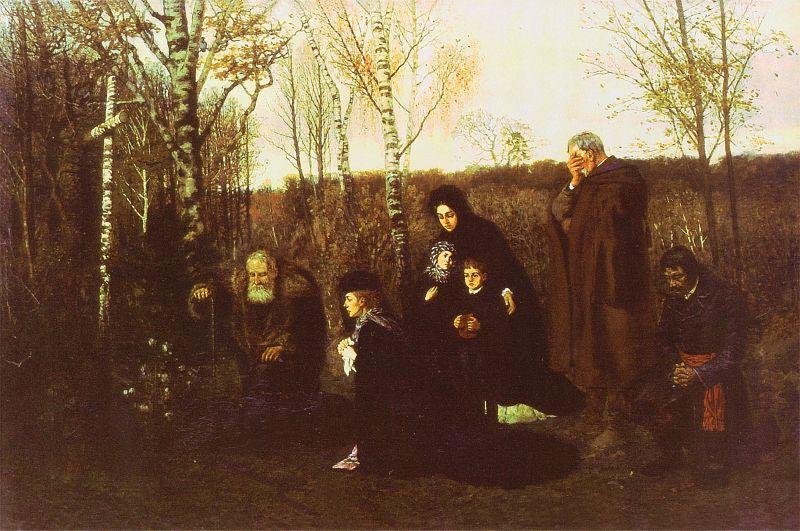Ludomir Benedyktowicz - Nad mogiłą powstańca