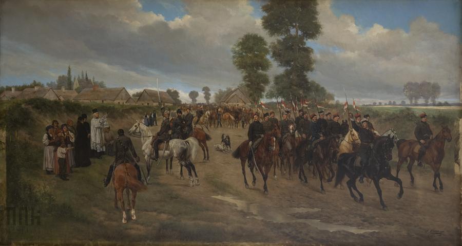 Jan Henryk Rosen - Powstańcy 1863