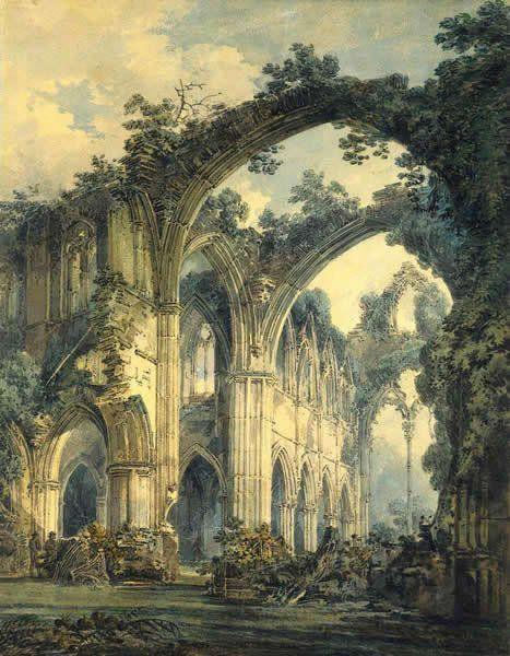 Wiliam Turner - Opactwo w Tintern